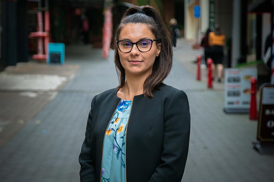 Law Clerk Nadia Cooper
